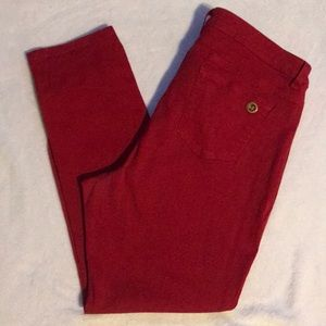 Michael Kors Red Jeans size 18W